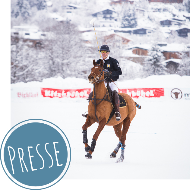 Optimahl beim Polo World Cup in Kitzbühel