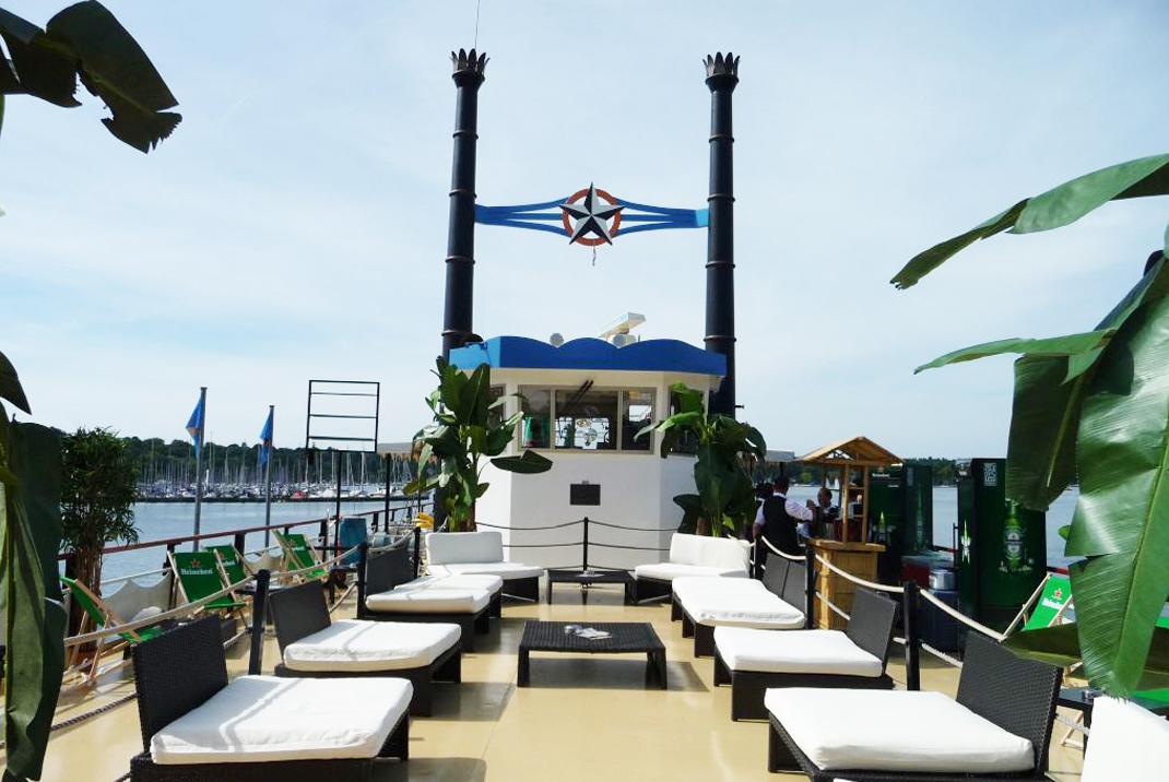 Optimahl Catering Location Stern und Kreis Schifffahrt