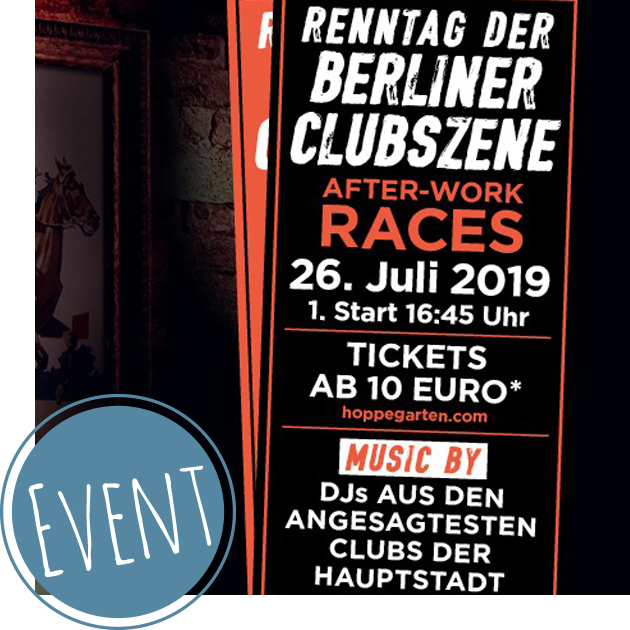 Hoppegarten 2019: 26. Juli | After-Work Races