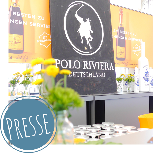 Internationales Buffet zum Beach-Polo-Turnier